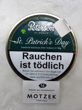 Restbestand ! Peterson St. Patrick´s Day - 50gr.