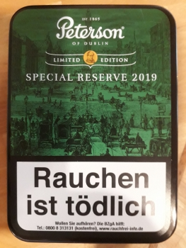 Peterson Special Reserve 2019 Limited 100gr.