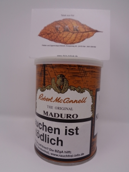 Robert McConnell Maduro - 100gr.