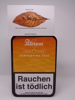 Restbestand ! Peterson Summertime 2020 Limited Edition - 100gr. Dose