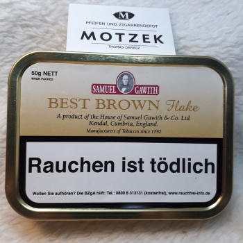 Samuel Gawith Best Brown Flake - 50gr.
