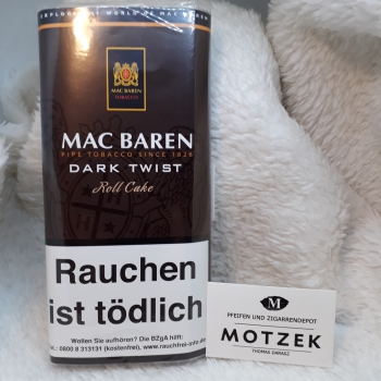 Mac Baren »Dark Twist« - 50gr.