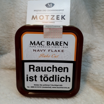 Mac Baren »Navy Flake« - 50gr.