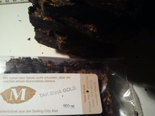 "TAK Black GOLD ""crumble""- 25gr."
