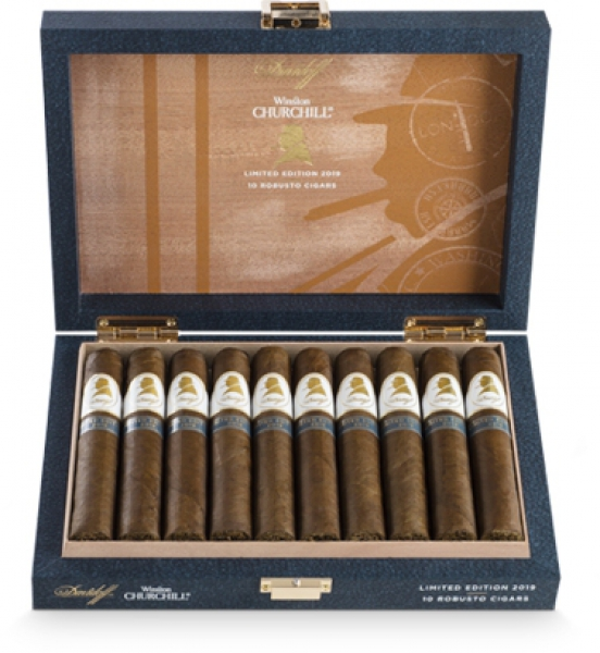 "DAVIDOFF ""Winston Churchill Limited Edition 2019"" - 10 Stück - Kiste"